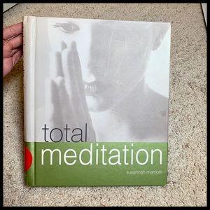 Total Meditation Spiral bound Hardcover Book